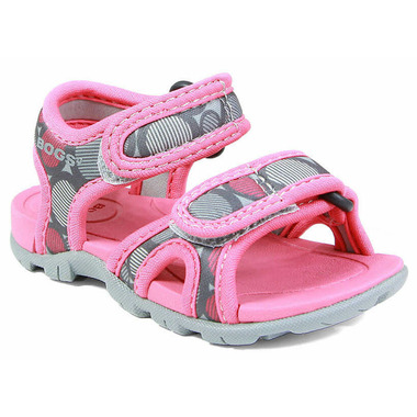Bogs Whitefish Multidot Sandal Rose Multi