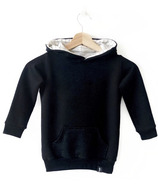 Today's Modern Bebe Child Hooded Sweater Black