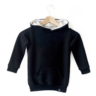 Today\'s Modern Bebe Child Hooded Sweater Black