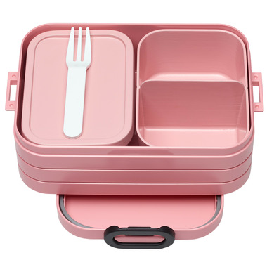 Mepal Bento Lunchbox Take A Break Midi Nordic Pink