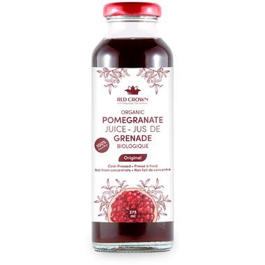 Red Crown 100% Pure Organic Pomegranate Juice Original