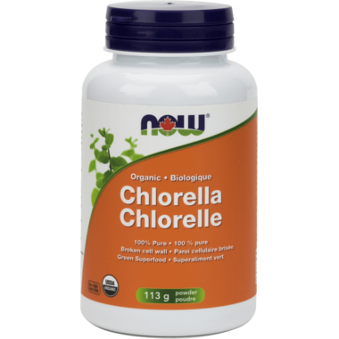 NOW Foods 100% Pure Organic Chlorella