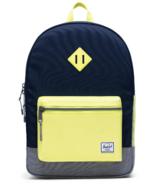 Herschel Heritage Youth X-Large Backpack Peacoat & Grey Crosshatch