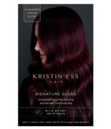 Kristin Ess Signature Hair Gloss Wild Berry Deep Rich Burgundy