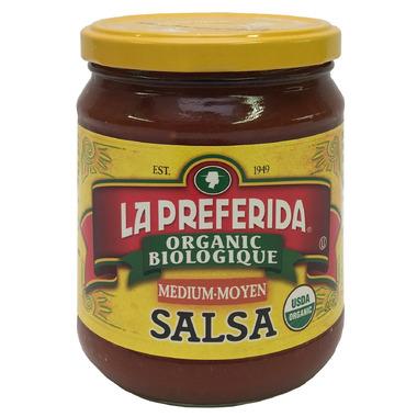 La Preferida Organic Salsa Medium