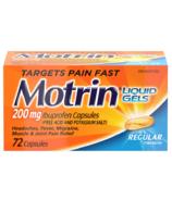 Motrin IB Gels Liquides