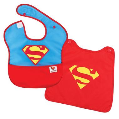 Bumkins DC Comics Superman Caped SuperBib