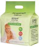 Gaia Natural Baby Bamboo Wipes