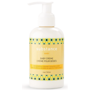 Substance Baby Creme With Calendula, Shea Butter & Red Clover