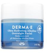 DERMA E Soin du visage alcalin hydratant de nuit