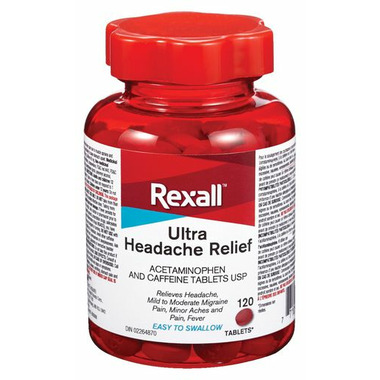 Rexall Ultra Headache Relief