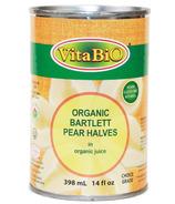 VitaBio Organic Bartlett Pear Halves