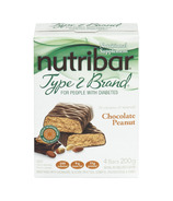 Nutribar Type 2 Brand Chocolate Peanut Bars