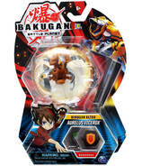 Bakugan Ultra Aurelus Vicerox Collectible Action Figure and Trading Card