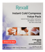 Rexall compresse froide instantanée