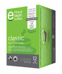 Ethical Bean Coffee Classic Medium Roast Coffee Pods