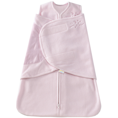 Halo Innovations SleepSack Swaddle Micro-Fleece Pink