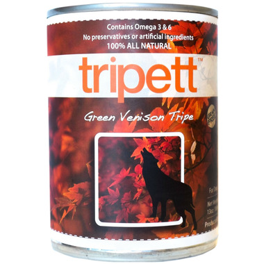 PetKind Tripett Green Venison Tripe