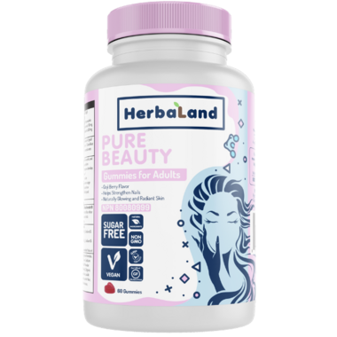 Herbaland Gummies for Adults Pure Beauty