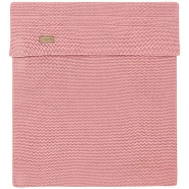 Noppies Organic Cotton Cradle Blanket Knit Norcia Old Pink