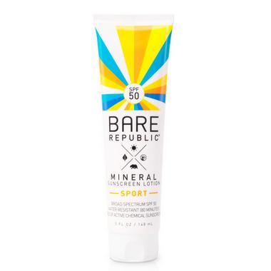 Bare Republic Mineral Sport SPF 50 Sunscreen Lotion