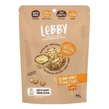 Lebby Seasme Honey Chickpea Snack
