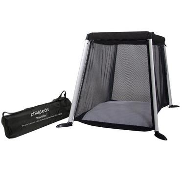 Phil & Teds Traveller Portable Travel Crib Black