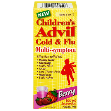 Children\'s Advil Cold & Flu Multi-Symptom Suspension