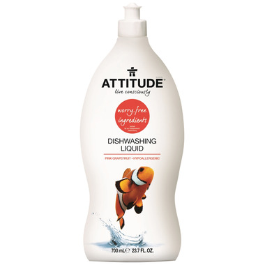 ATTITUDE Dishwashing Liquid Pink Grapefruit