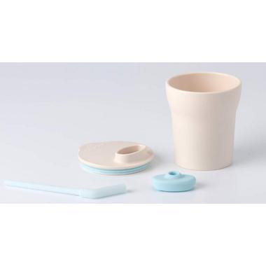 Miniware 1-2-3 Sip! Cup Vanilla + Aqua