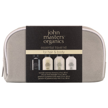 John Masters Organics Essential Travel Set for Hair & Body