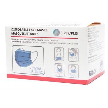 MYCYK Disposable Face Mask Size Small