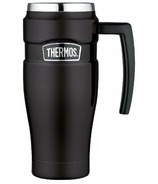 Thermos Stainless King Stainless Steel Travel Mug Matte Black