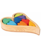 Grimm's Building Set Rainbow Hearts