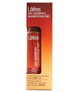 Lafes Dry Shampoo Tinted to Match Red Hair