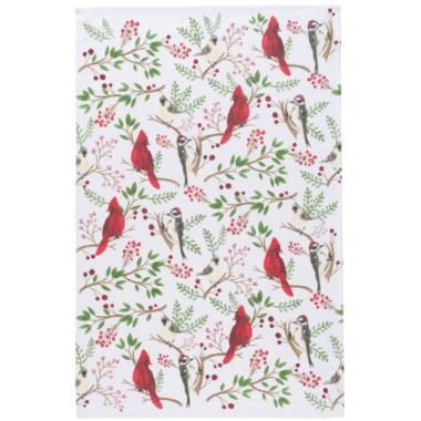 Now Designs Winter Birds Dish Towel