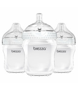 Baby Brezza Large Polypropylenes Bottle Trio White