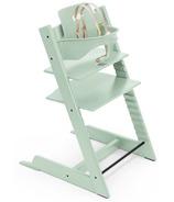 Chaise et ensemble pour bébé Tripp Trapp de Stokke, menthe douce
