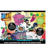 greenre Eco-Teen Titans Go! Giant Colouring Pad with Stickers