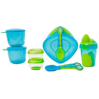 Vital Baby 8 Piece Start Weaning Kit Blue
