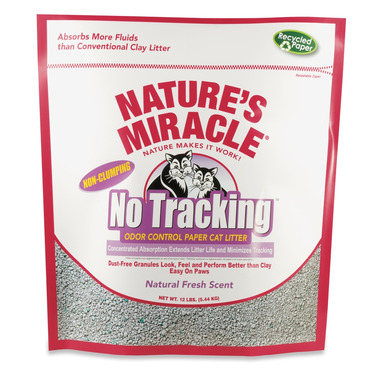Nature\'s Miracle No-Tracking Odour Control Paper Cat Litter