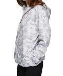 O8 Lifestyle Sloane Full Zip Packable Jacket White Camo
