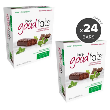 Love Good Fats Mint Chocolate Chip Snack Bar Bundle