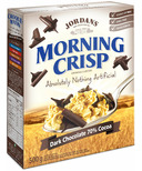 Jordans Morning Crisp Cereal Dark Chocolate