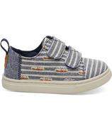 TOMS Lenny Tiny Toms Sneaker Navy Cabana Cubana