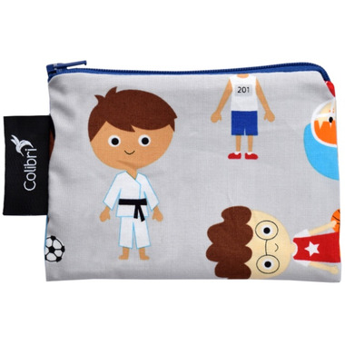 Colibri Reusable Snack Bag Small Sports Boy