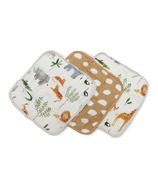 Loulou Lollipop Safari Wash Cloth Set