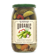 Eat Wholesome Organic Garlic Dill Pickles