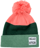 Headster Kids Tricolour Green Tuque