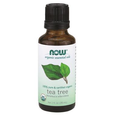 NOW Essential Oils Organic Tea Tree Oil